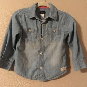 Boys 3T Carters Chambray Button-down